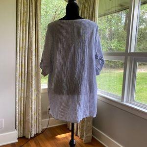 Striped linen shirt, excellent condition